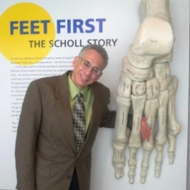 Dr. Nirenberg at the Scholl College of Podiatric Medicine